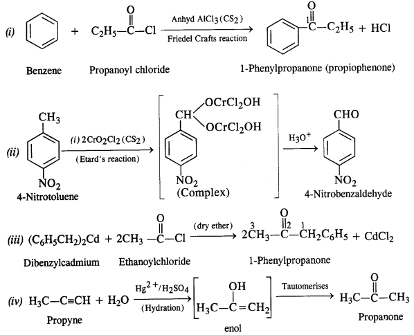 byjus class 12 chemistry Chapter 12 Aldehydes, Ketones and Carboxylic Acids te2a