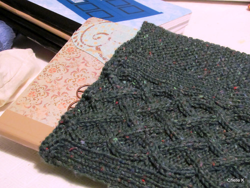 Awesome knit cover by my HSKS Clara Clovenhoof