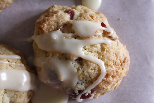cranberry clementine cookie