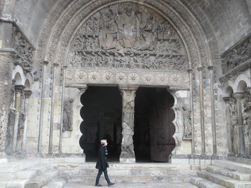 St. Peter's Abbey tympanum