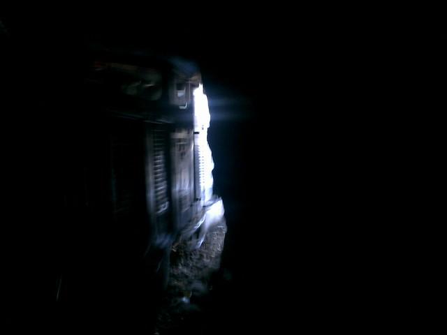 Neral-Matheran Railway Engine in Tunnel