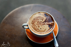 Cappuccino at Black Star Pastry Newtown
