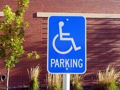 Handicapped Parking Sign
