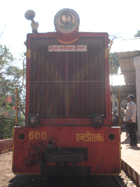 Neral - Matheran Railway Engine