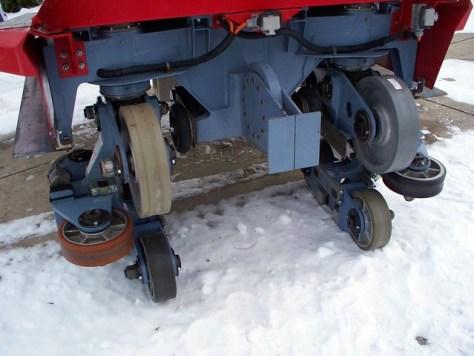 Cedar Point - Off-Season Millennium Force Wheels