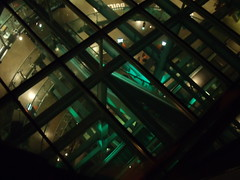 "View into the ""pint glass"" from the Gravity Bar"