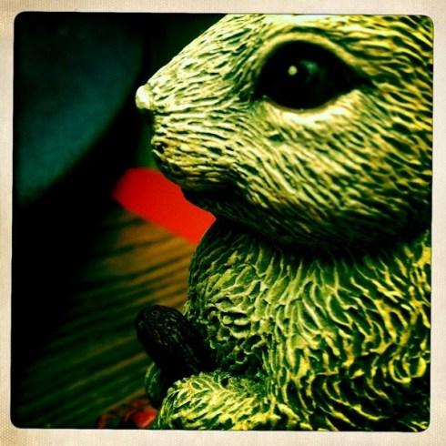 Creepy bunny, the Lamplighter, Memphis, Tenn.