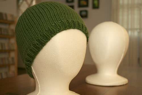 Hat 1 - Green simple hat