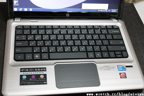 [用品]HP Pavilion dv3-4026TX~新筆電入手 @VIVIYU小世界