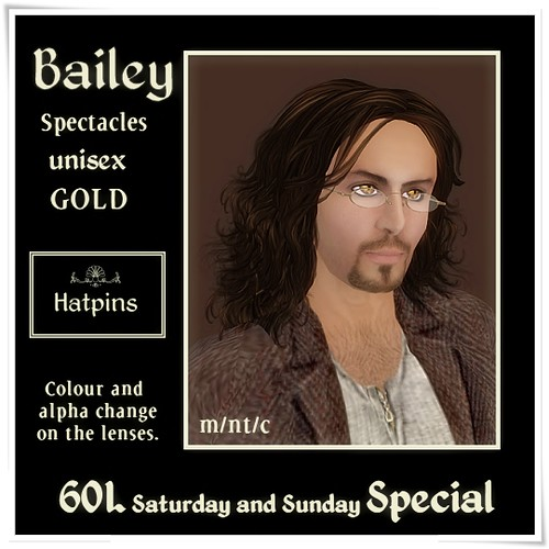 Hatpins - Bailey Gold - Sixty Linden Weekend