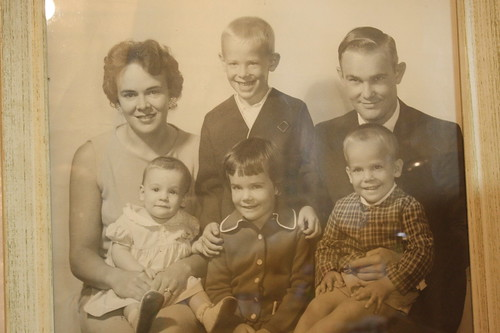 my family in the 1960's