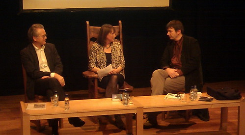 Gunnar Staalesen, Catherine Lockerbie and Ian Rankin