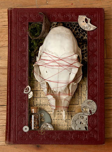 Altered Book: Time is More Infinite Than We