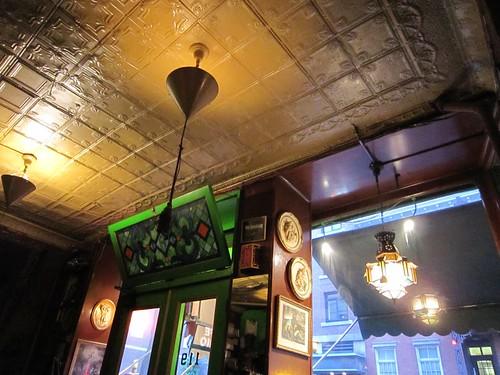 Caffe Reggio Tin Ceiling