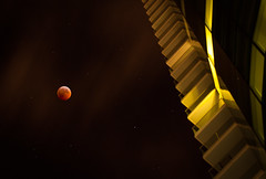 My view of the Lunar Eclipse December 2010