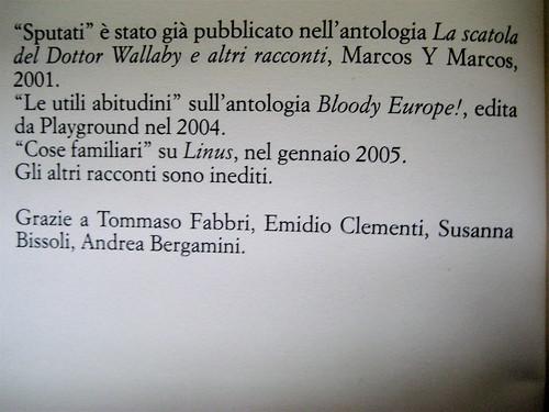 Sandro Campani, Nel paese del Magnano, Italic 2010; grafica di copertina: Giordano Giunta; verso della p. dell'esergo (part.), 1