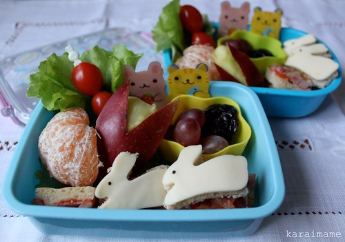 Snack bento: it is the bunny year!
