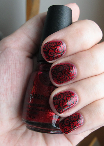 Ruby Pumps with stamping