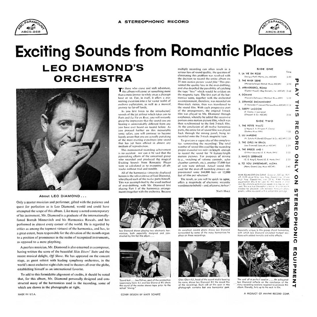 Leo Diamond - Exciting Sounds from Romantic Places
