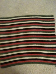 Striped Baby Blanket for Girl