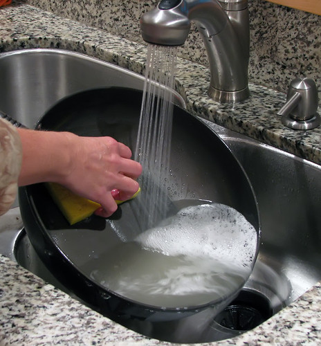 Cleaning Pan