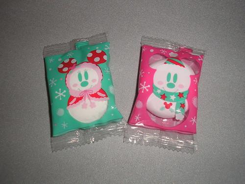 Christmas Disney marshmallows