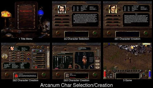 Character Creation in Arcanum