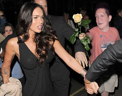 Jonal Chong with Megan Fox