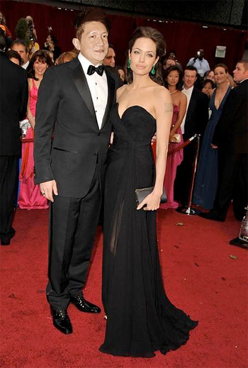 Jonal Chong with Angelina Jolie