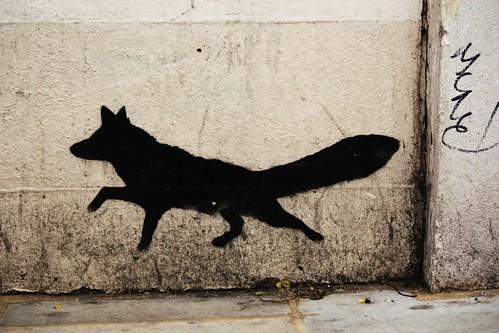 Fox Stencil