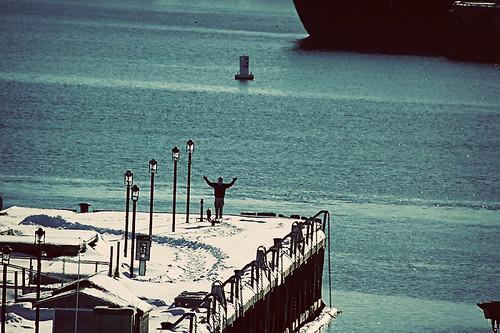 Casco Bay ferry dock