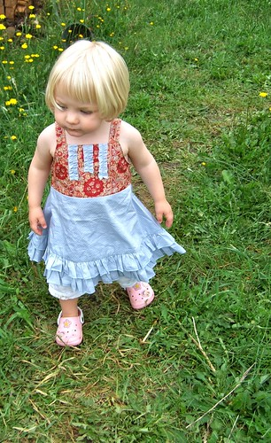 Alice taking a stroll