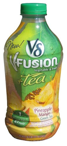 Pineapple Mango Green Tea V8 V-Fusion + Tea