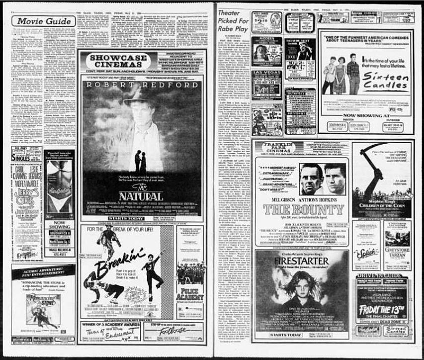 Toledo Blade 5/11/1984