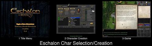Character Creation in Eschalon