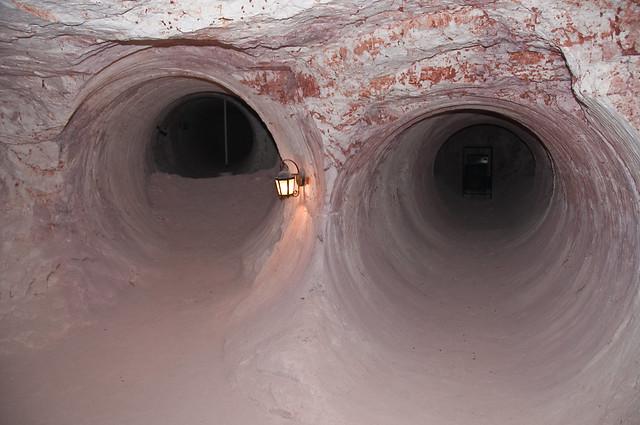 In an opal mine