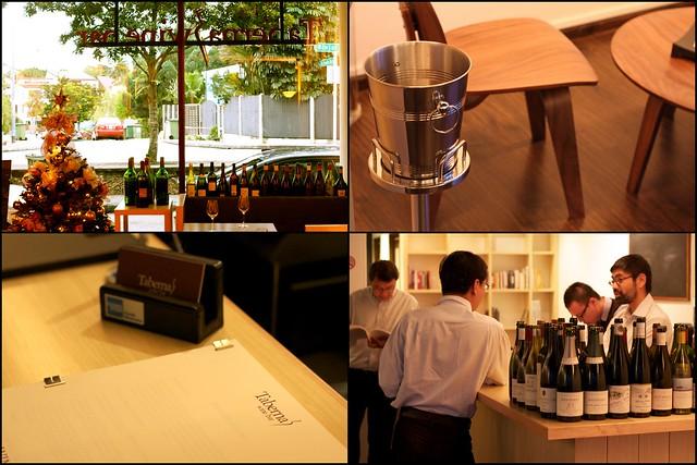 Taberna Wine Bar, Binjai Park