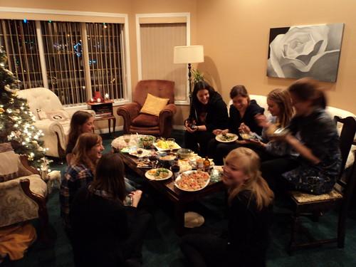 Jenn's party blurry