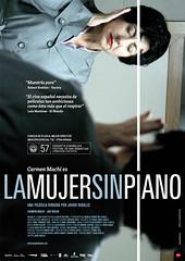 La mujer sin piano cartel película