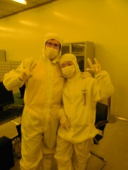 working in clean room