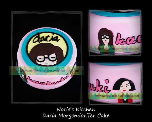 Norie's Kitchen - Daria Morgendorffer cake