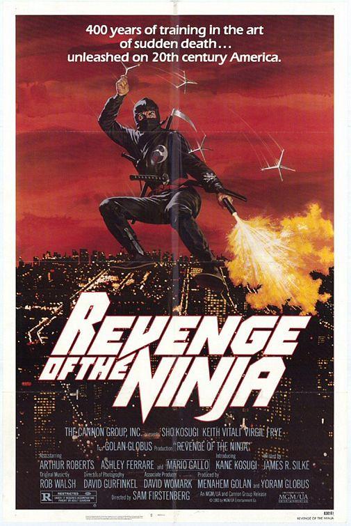 Revenge of the Ninja poster