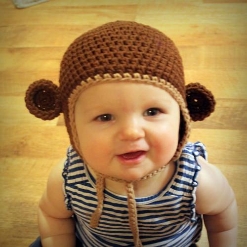 Free Crochet Pattern Monkey Hat Mamachee