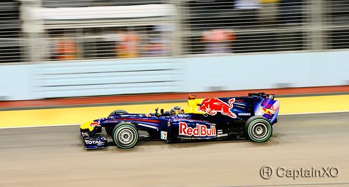 Singapore Grand Prix - Sebastian Vettel