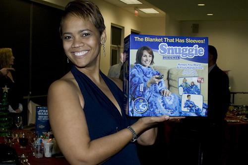 Snuggie winner!