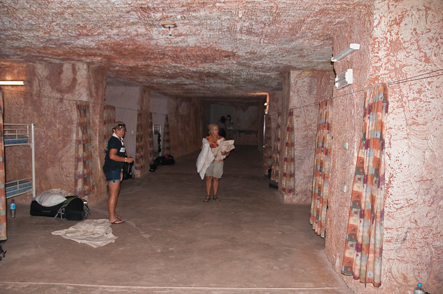 Our underground bunkhouse