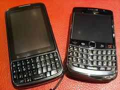 Droid Pro & BlackBerry Bold 9700
