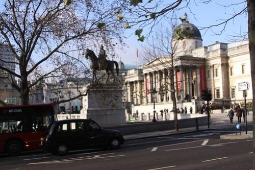 London. Trafalgar Square