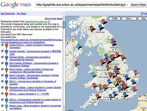 MPs alma mater map