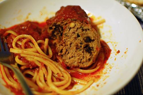 Meatball Innards